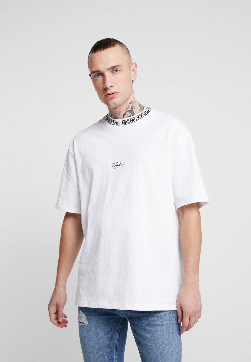Topman - TEE - T-shirt con stampa - white