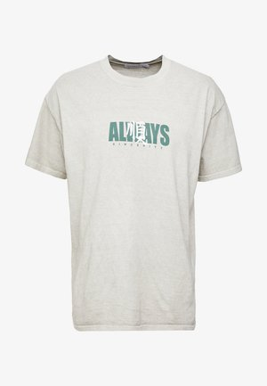 ALWAYS TEE - T-shirts med print - stone