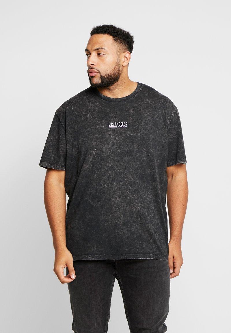 Topman - T-shirts med print - black