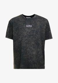 Topman - T-shirts med print - black - 4