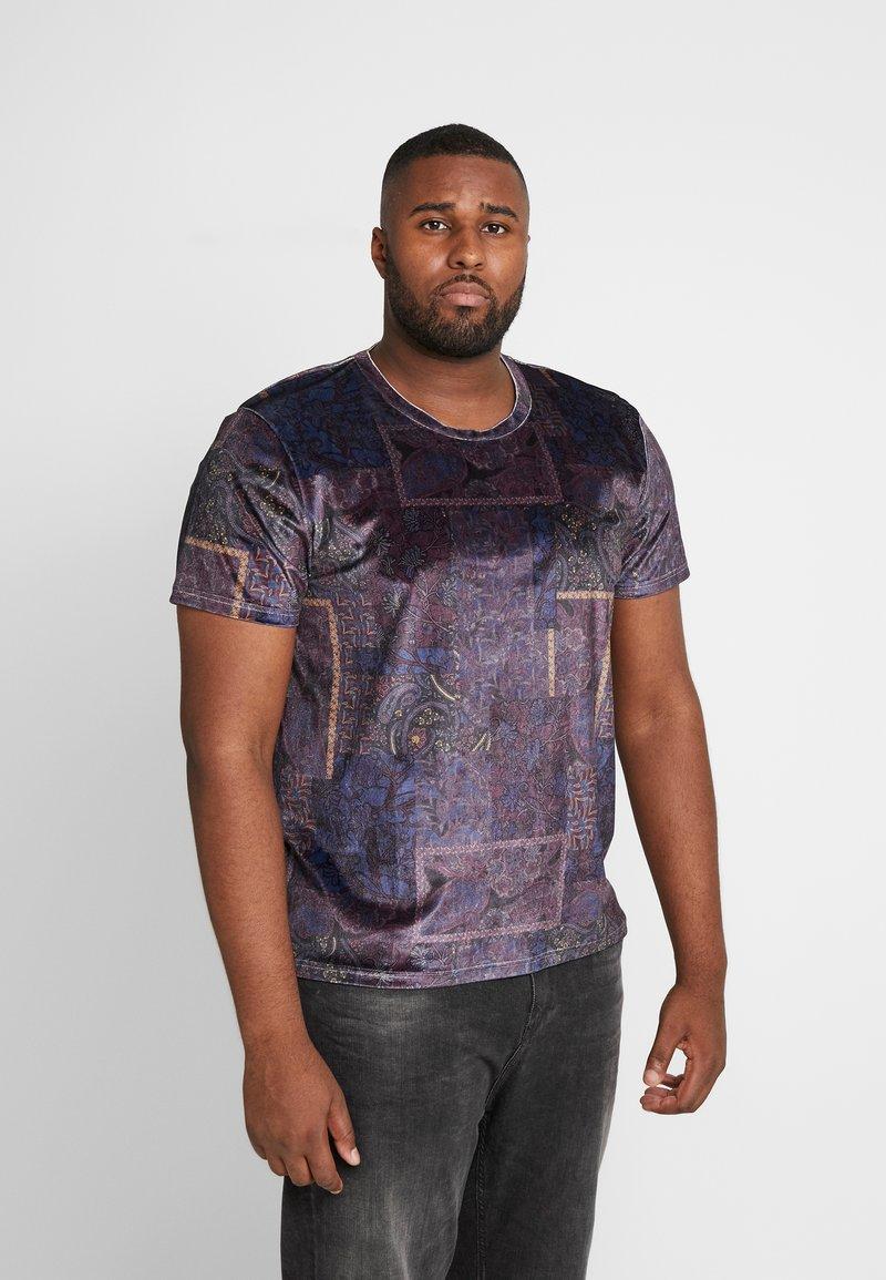 Topman - PAISLEY TEE - T-shirt print - apple