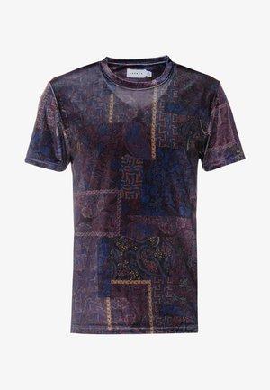 PAISLEY TEE - T-shirt print - burg