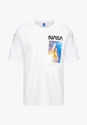 NASA TEE - Camiseta estampada - white
