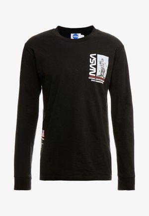 NASA TEE - Maglietta a manica lunga - black