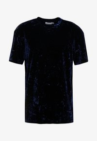Topman - CRUSHED TEE - T-shirt print - navy - 3