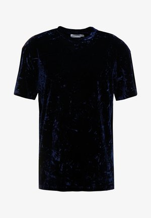 CRUSHED TEE - T-shirt con stampa - navy