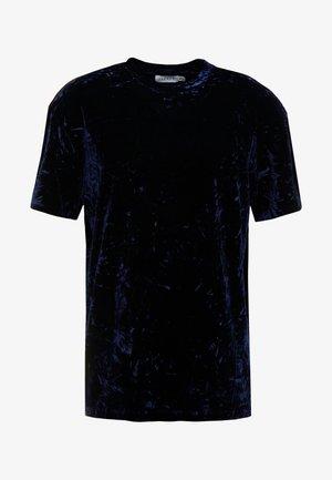 CRUSHED TEE - T-shirt print - navy