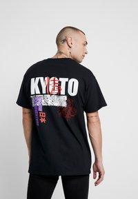 Topman - KYOTO TEE - T-shirt con stampa - black - 2