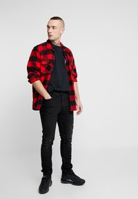 Topman - KYOTO TEE - T-shirt con stampa - black - 1