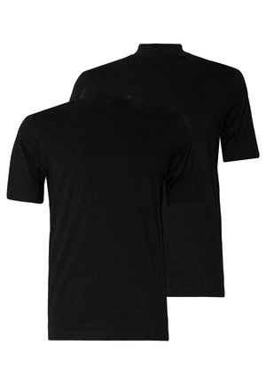 TURTLE 2 PACK - T-shirts - black