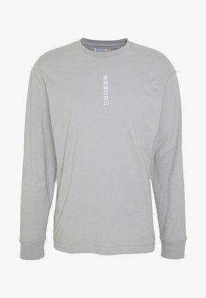 SYMBOL PRINT TEE - Top sdlouhým rukávem - grey