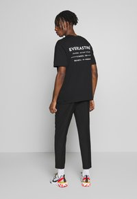 Topman - EVER MONO TEE - T-shirt imprimé - black - 2