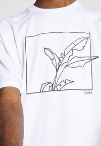 Topman - SKETCH TEE - T-shirt imprimé - white - 5