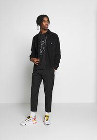 Topman - SKETCH TEE - T-shirt print - black - 1