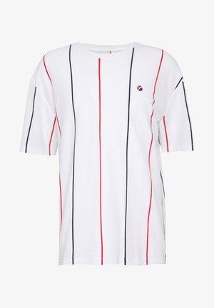 STRIPE - T-shirt print - white