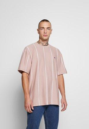 STRIPE TEE - T-shirt imprimé - pink