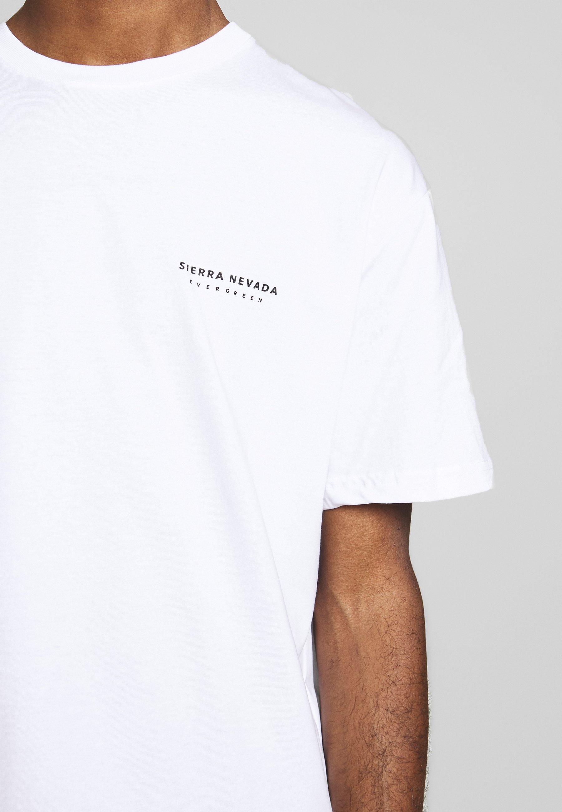Topman Sierra Nevada Print Tee - T-shirt Imprimé White