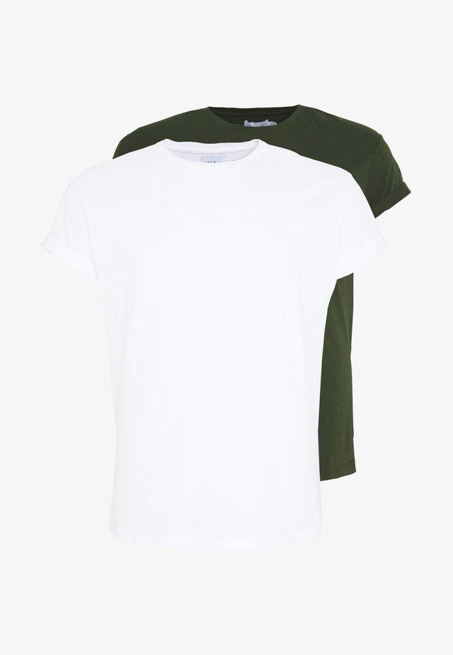 2 PACK - T-shirt basic - multi