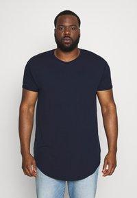 Topman - SCOTTY  3 PACK - Jednoduché triko - white/dark blue/burgundy - 3