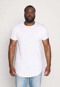 Topman - SCOTTY  3 PACK - Jednoduché triko - white/dark blue/burgundy - 2