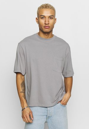 BOXY TEE - T-shirt basique - grey