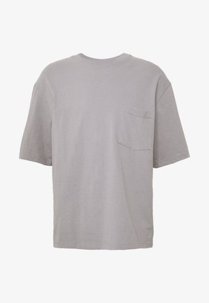 BOXY TEE - T-shirt basic - grey
