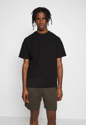 STRUCTURED TEE - T-shirt basic - black
