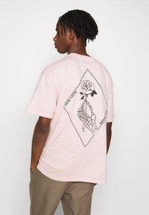 ROSE IMMORTALITY TEE - T-shirt print - lila