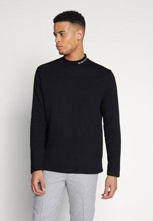 BRANDED TURTLE - Maglietta a manica lunga - black