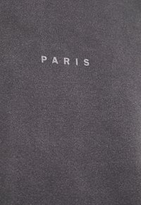 Topman - UNISEX PARIS PUFF WASH - T-shirt print - black - 2