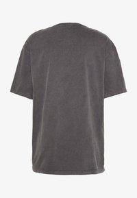 Topman - UNISEX PARIS PUFF WASH - T-shirt print - black - 1