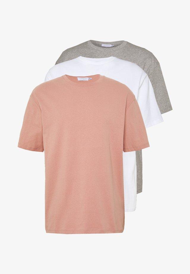 3 PACK - T-shirts - multi