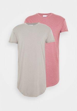 2 PACK SCOTTY  - Jednoduché triko - pink/stone