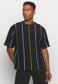 Topman - BOXY  - T-shirts med print - dark blue - 0
