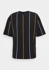 Topman - BOXY  - T-shirts med print - dark blue - 4