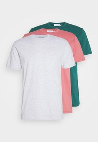 Topman - 3 PACK - T-shirt - bas - grey/green - 6