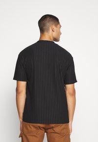 Topman - SHINY - T-shirt con stampa - black - 2