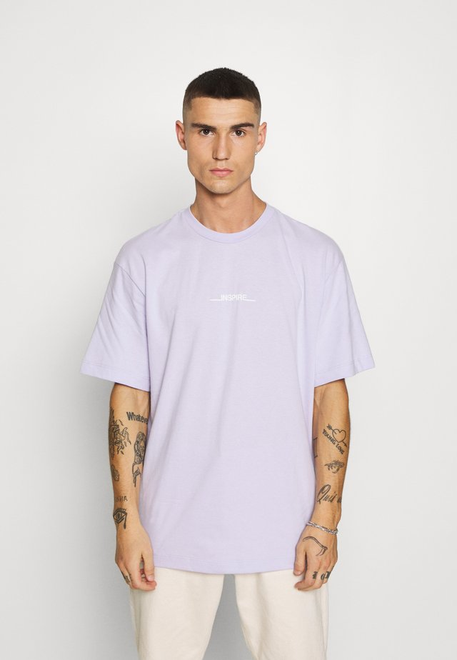 INSPIRE TEE - T-shirt con stampa - pink