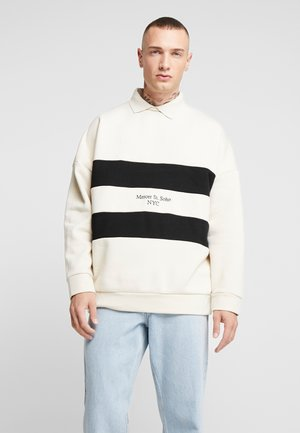 BLOCKED RUGBY - Sweatshirt - cream