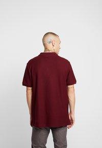 Topman - ZIP - Poloshirts - burg - 2