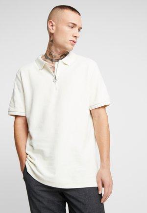 ZIP - Poloshirts - ecru