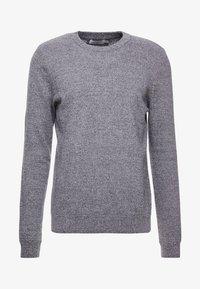 Topman - SALT PEPPER CREW  - Sweter - grey - 4