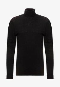 Topman - ROLL NECK - Jersey de punto - black - 4