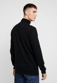 Topman - ROLL NECK - Jersey de punto - black - 2