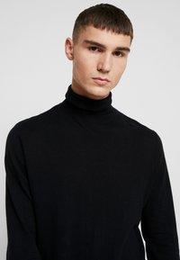 Topman - ROLL NECK - Jersey de punto - black - 3