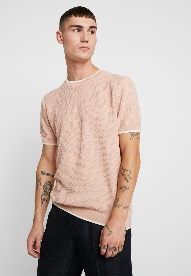 Topman - TEXT CREW - Jumper - pink
