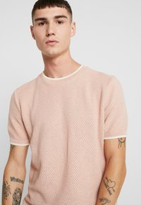Topman - TEXT CREW - Jumper - pink - 3