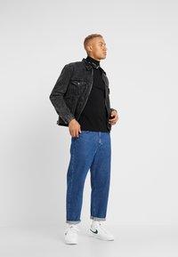 Topman - ROLL NECK - Maglietta a manica lunga - black - 1