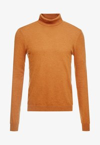 Topman - BASIC ROLL - Jersey de punto - brown - 3