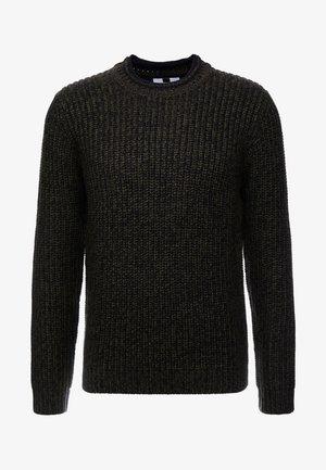 CHUNKY CARDI CREW - Pullover - green